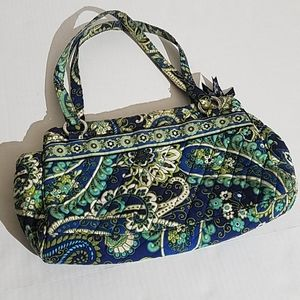 Vera Bradley green/blue bag b121